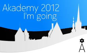 I am going to Akademy 2012