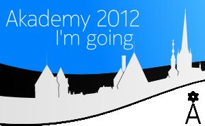 I am going to Akademy 2012