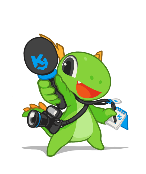 File:Mascot konqi-commu-journalist.png