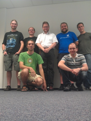 Group photo KDE Windows Osnabrueck 2012