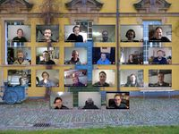 Group photo KDE PIM Meeting Virtual Osnabrueck 12
